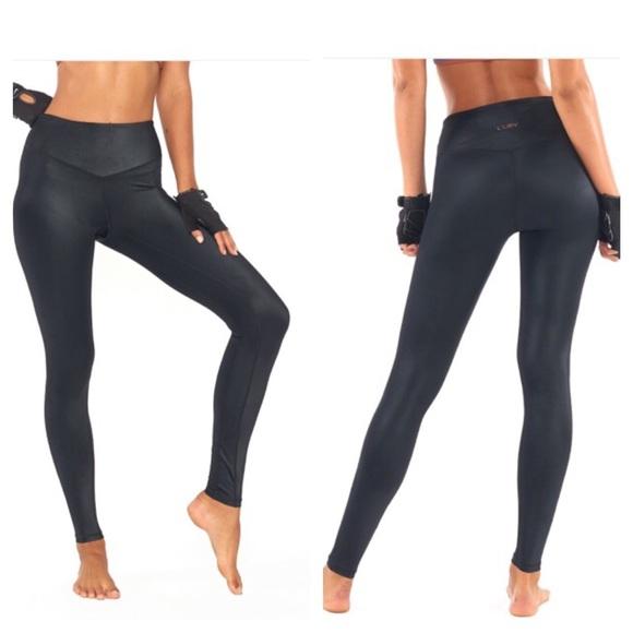 859a0067836f6 L'URV Pants | Lurv High Waisted Leather Lust Legging | Poshmark